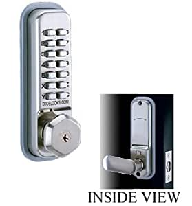 Share facebook twitter pinterest currently unavailable we for Front door lock with code