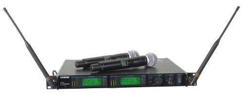 Shure Ur24D/Sm58 Dual Handheld Wireless System, H4
