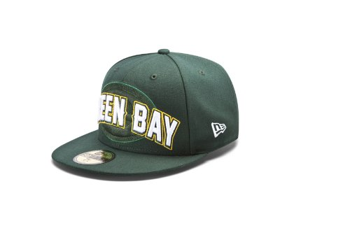 NFL Green Bay Packers Draft 5950 Cap from New Era