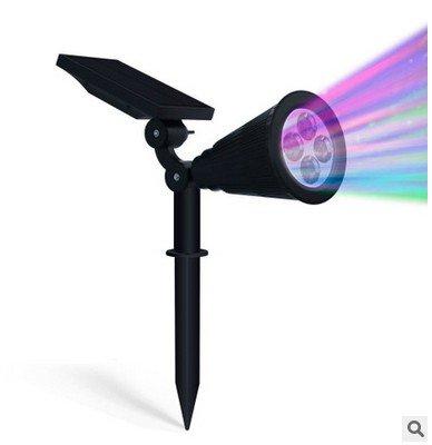 Mohoo-LED-luce-solareLuci-Solari-Esterno4LED-luce-solare-Illuminazione-Giardino-Solar-PoweredLuce-Solare-Lampada-per-Patio-Yard-Prato-Driveway-Panorama-Della-Sicurezza-Luce
