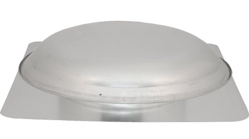 Cool Attic CX1000AM Power Attic Roof Mount Ventilator with 3.4-Amp 60-Hz Motor and Steel Flange, Galvanized Steel Dome picture