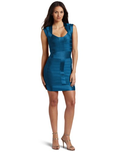 French Connection Women's Ribbon Knit Dress