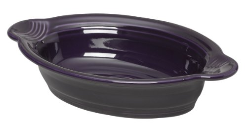 Fiesta 9 Inch by 5 Inch Individual Oval Casserole, Plum