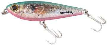 Bomber Salt Water Badonk-A-Donk High Pitch Lures, Natural Croaker, 4-Inch