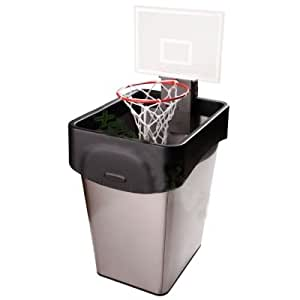 Cheering basketball trash can toy office hoop for home - Basketball waste paper basket ...