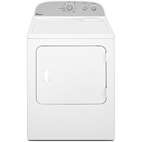 WHIRLPOOL WASHERS & DRYERS 284186 7.0 cu.ft. Front Load Gas Dryer, White, 14 Drying Cycles (Whirlpool Washer Dryer compare prices)