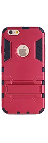 MGM Iphone 6 Case, (4.7-inch) (Red/blue/gold/silver) Tough Armor Case for Iphone 6 (Red)