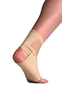 Thermoskin Elastic Ankle Wrap Support Large X Large 24-31cm
