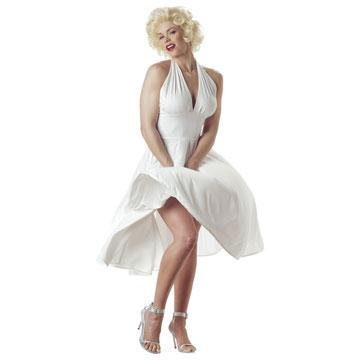 Womens Sexy Marilyn Costume (large or medium)