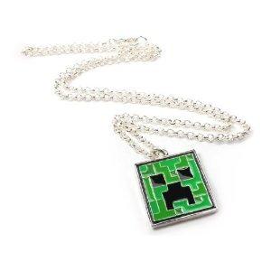 Minecraft Creeper Pendant Necklace 並行輸入品