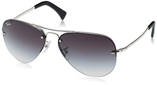 Ray-Ban Aviator Sunglasses (Silver) (RB3449|003/8G59)
