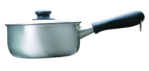 311 150 Brushed Stainless Steel 18cm Saucepan Sori Yanagi
