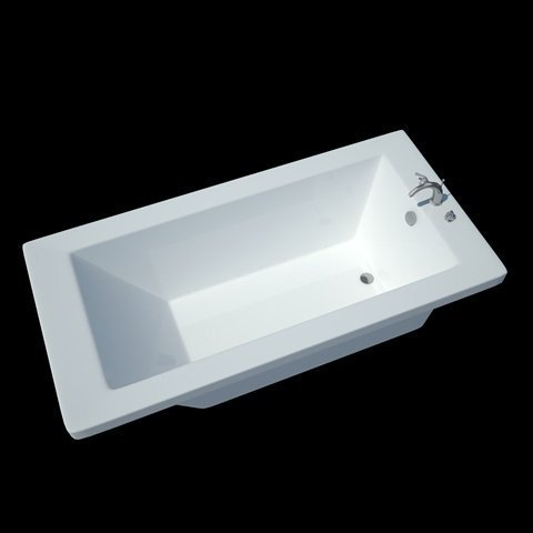 Atlantis-Whirlpools-3672w-Whisper-Rectangular-Soaking-Bathtub-36-X-72-Center-Drain-White