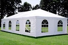 Inflatable Canopy Tent front-562706