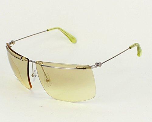 Calvin Klein sunglasses CK 2133 S 369 Metal Silver Yellow