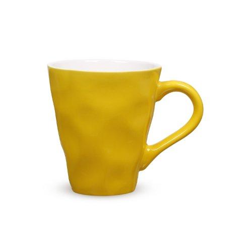 Maxwell & Williams Krinkle Mug, 12.5-Ounce, Yellow