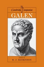 The Cambridge Companion to Galen (Cambridge Companions to...
