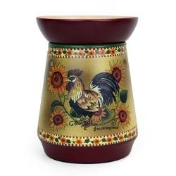 Tall Candle Warmer/ Rooster