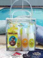 Happy Tails Spa Travel Dog Collection Gift Set