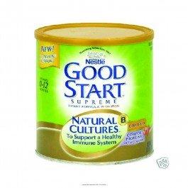 Good Start® Supreme Natural Culturestm Infant Formula-Calories 20 / Fl Oz Style Powder Packaging 12 Oz (340 G) Can - Each 1 front-132774