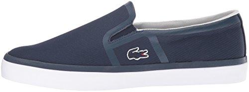 Lacoste Women's Gazon 416 2 Spw Fashion Sneaker, Navy, 7.5 M US