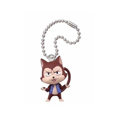 Fairly Tail Deformed Mascot 5~Figure Swing Keychain~Lector - 1