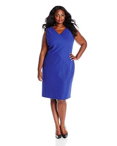 Anne Klein Plus Women's Sleeveless Solid Sheath Dress