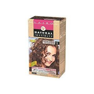 Clairol Natural Instincts 12 Toasted Almond Light Golden Brown 1 Kit (Pack Of 3) front-103984