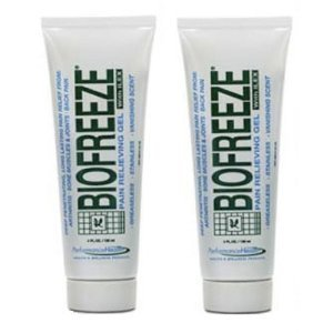 Biofreeze Pain Relieving Gel with Soothing Menthol, 4-Ounce (Pack of 2)