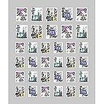 オンジェルズ ジェルネイルアートシート NYC #P7