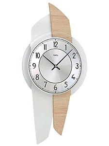Reloj de pared moderno con mecanismo a cuarzo de AMS AM W9496 de AMS