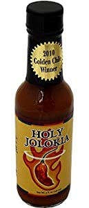 Holy Jolokia Hot Sauce by Cajohn's