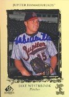Jake Westbrook Jupiter Hammerheads - Expos Affiliate 1999 Upper Deck SP Top Prospects... by Hall of Fame Memorabilia