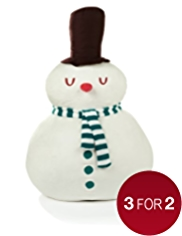 Crimbleberry Wood Norman the Snowman Soft Toy Christmas Room Decoration