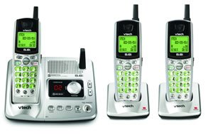 Vtech Ia5878 - 5.8 Ghz Three Handset Cordless Phone Systemm W/ Digital Answering Device & Caller Id