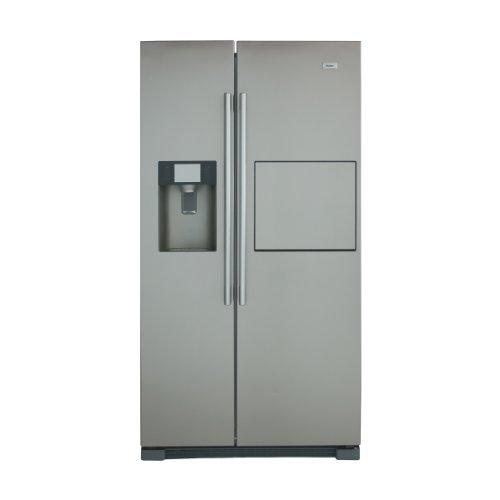 Haier HRF-628AF6 - frigo américain (Autonome, Aluminium, Acier inoxydable, Américain, A+, LED, SN, ST)