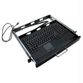 Adesso Keyboard Ack-730Ub-Mrp Usb Mini Touchpad 19Inch 1U Rackmount Drawer Black