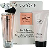 Tresor In Love by Lancome Eau de Parfum Spray 50ml & Body Lotion 50ml