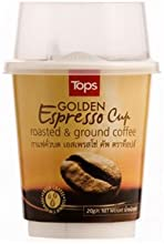 12x Tops Roastedampground Coffee Golden Espresso Cup 20g Pack of 12
