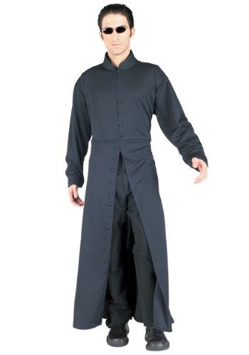 Rubies Mens Movie Character The Matrix Neo Theme Party Fancy Costume