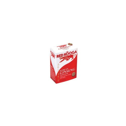 Red Kooga Ginseng Tablets 600mg 32 Tablets
