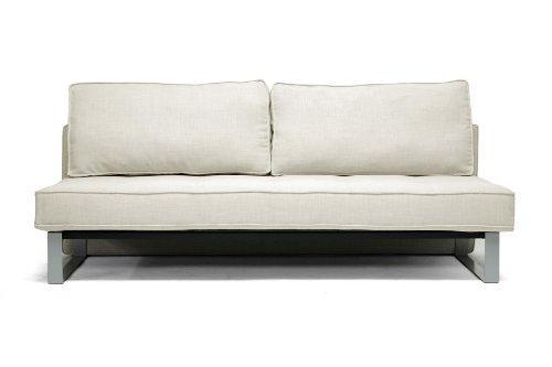 Cool Baxton Studio Shelby Linen Modern Sofa Bed Beige Compare Creativecarmelina Interior Chair Design Creativecarmelinacom