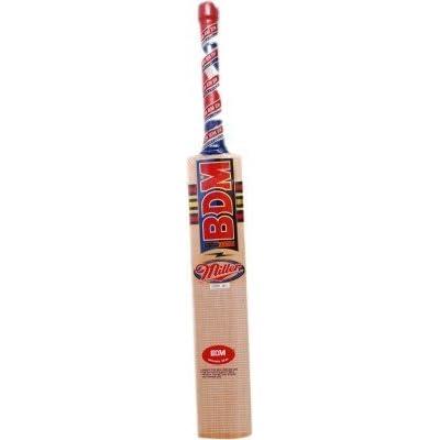 BDM Miler/Hammer Kashmir Willow Cricket Bat, Short Handle