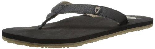 Reef Men's Reef Slim Smoothy Black Flip Flops R0242BLA 10 UK