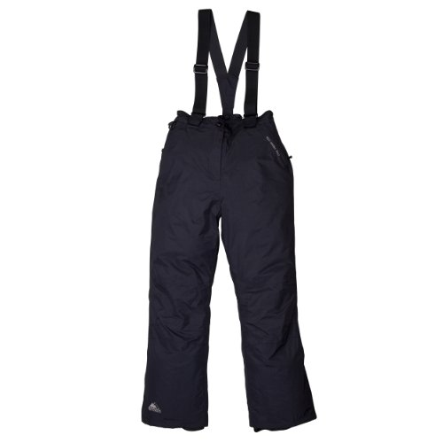 Cox Swain Damen 2-Lagen Ski-/Snowboardhose Slope Limited, Farbe: Black, Größe: L