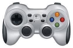 Wireless Gamepad シルバー F710