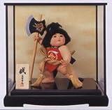五月人形ケース入り 金太郎 鉞 5-1848