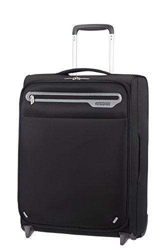 American Tourister Lightway Super Light Upright 55/20, 2 Ruote, 39.5 Litri, Anthracite