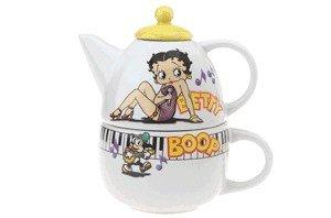 Betty Boop Tea Pot Tea For 1