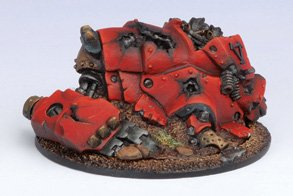 Privateer Press - Warmachine - Khador: Heavy Warjack Wreck Marker Model Kit